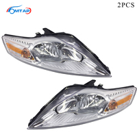 MTAP 2PCS Front Bumper HeadLight Head lamp For Ford For Mondeo MK4 2008 2009 2010 2011 2012 Halogen Headlamp Assy