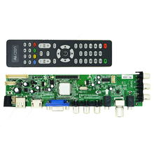 vilaxh DS.D3663LUA.A81 Universal LCD TV Controller Driver Board DVB-T2 DVB-T DVB-C digital TV LCD/LED driver board 15-32 inch 2pcs lot mst6m181vs lf z1 tv led lcd driver chip