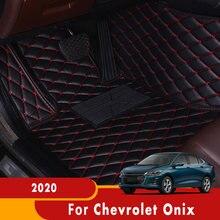 Автомобильные коврики для Chevrolet Onix 2020 выполнены по индивидуальному заказу Авто ковры интерьерные аксессуары для укладки волос ног покрытия...