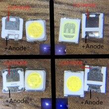 Retroiluminación LED TT321A 1000 W 3W con zener 2828 1,5 3228, blanco frío, para aplicaciones de TV, 2828 Uds.