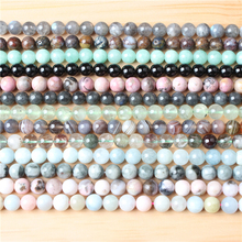Fashion jewelry 4 / 6 / 8 / 10 / 12mm eagle eye stone Loose beads series suitable for jewelry making DIY Bracelet Necklace