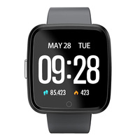 New Smartwatch IP67 Waterproof Wearable Device Bluetooth Pedometer Heart Rate Monitor Color Display Smart Watch For Android/IOS