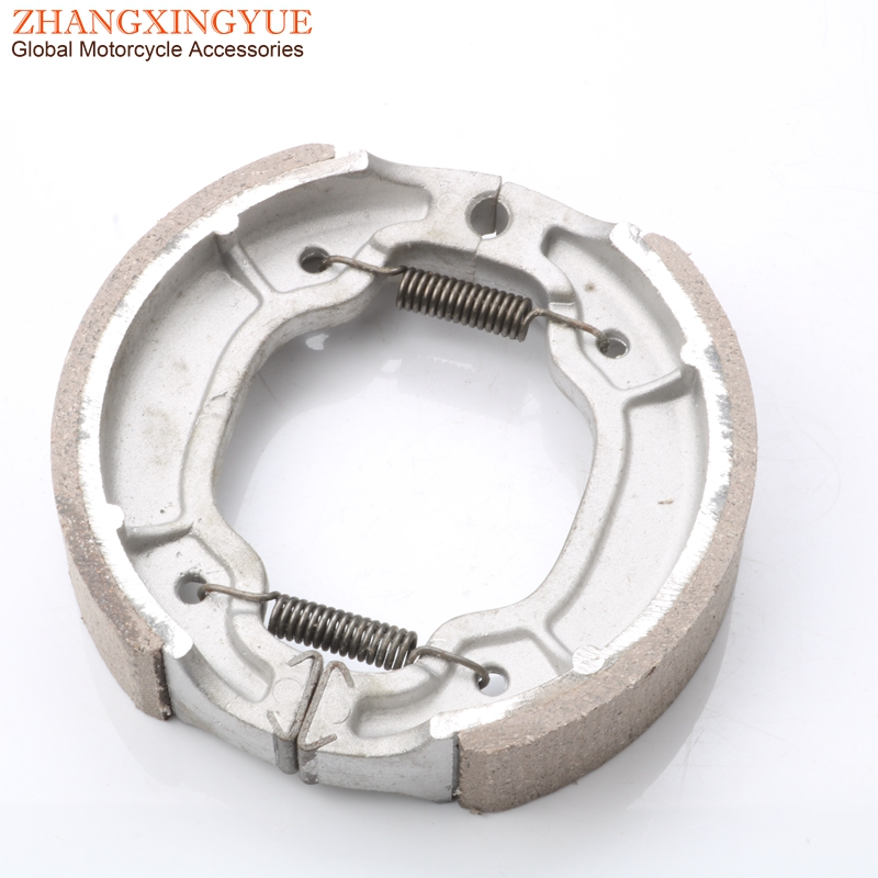 Brake brake shoes for <font><b>YAMAHA</b></font> <font><b>DT</b></font> Lc2 80 dal Aerox 100 BwS 100 NeoS 100cc 3LS-W2536-00 image