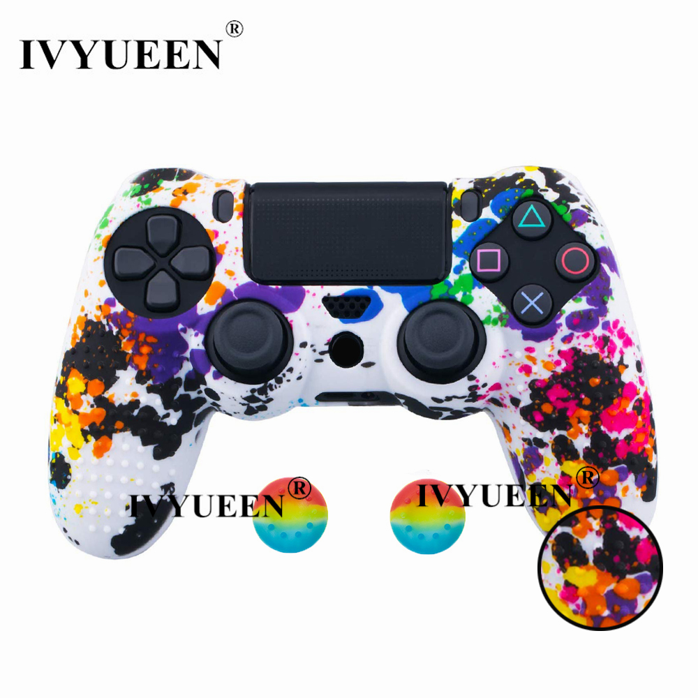 for PlayStation 4 ps4 Pro slim controller silicone case skin 18