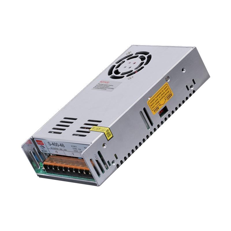 LEORY LED Switching Power Supply S-400W-48V/DC12V/15V/24V/36V/60V 8.3A-33.3A Support Monitoring Transformer Lighting