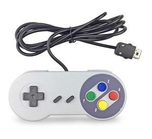 Image 2 - Oyun denetleyicisi oyun Joystick Gamepad denetleyicisi için Nintendo SNES mini oyun pedi bilgisayar kontrol Joystick