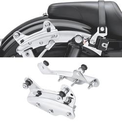 4 Point Docking Hardware Kit for Harley Touring 2009-2013 - Chrome