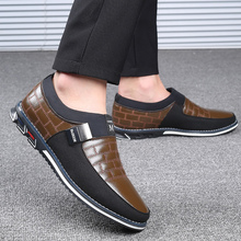 Mens shoes casual 2019 New Large Size 38-48 Genuine Leather Loafer Slip On Driving Oxford shoes for men mens genuine leather red patent leather loafer shoes slip on tassel driving shoes big size 11 12 45 46 casual men shoes