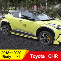 Use for Toyota CHR Body kit fender 2018 2019 2020 year Air Intakes Vent Cover car refitt Wide body Accessories 6pcs