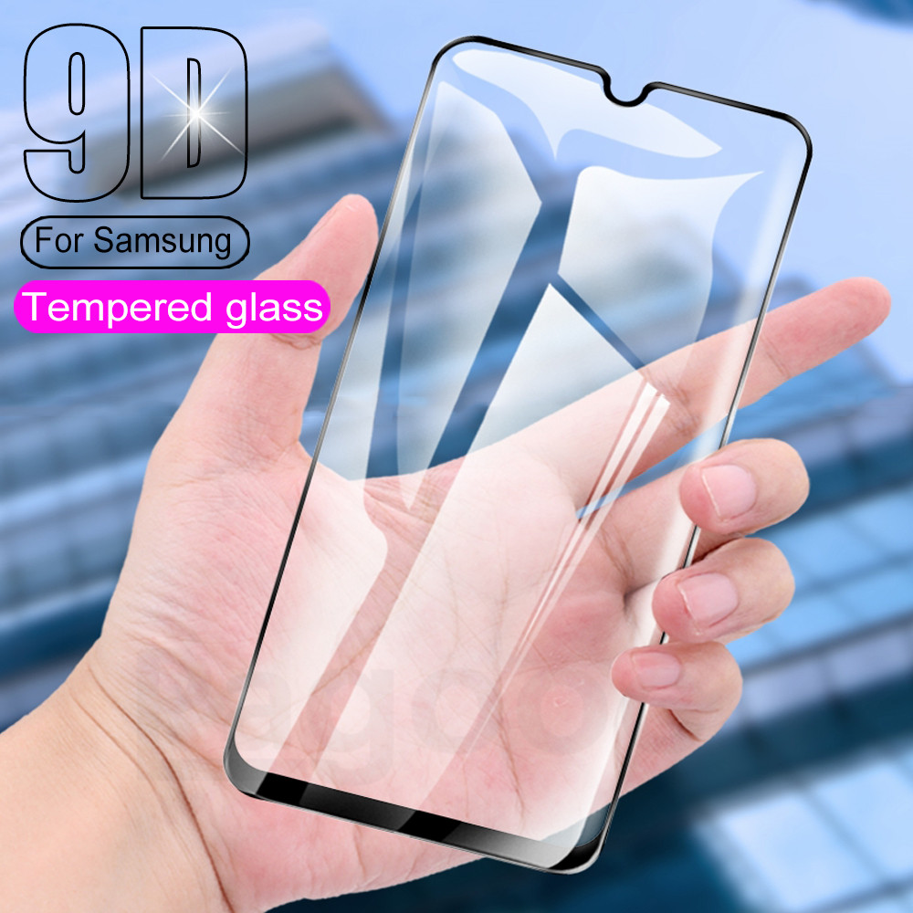 9D Screen Protective Safety Glass on For Samsung Galaxy A21S A11 A21 A31 A41 A51 A71 A10 A20 A30 A40