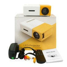 LED Mini Projector High Resolution Ultra Portable HD 1080P HDMI USB Pro