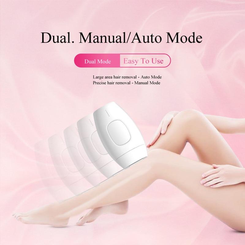 IPL épilateur épilation LCD affichage 600000 flash Laser Permanent Bikini tondeuse électrique épilateur Laser cheveux garniture