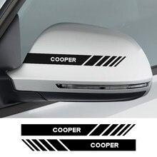 Pour Mini Cooper R56 R53 R50 F56 F54 F57 F55 F60 R57 R58 R59 R60 Auto Rétroviseur Couverture Décor Autocollants De Vinyle De Voiture Accessoires