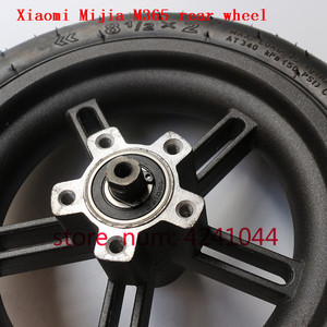 Image 4 - 8 1/2x2 tyre Pneumatic tire Inner Tube with alloy hub kit for Xiaomi Mijia M365 Electric Scooter Special purpose rear wheels