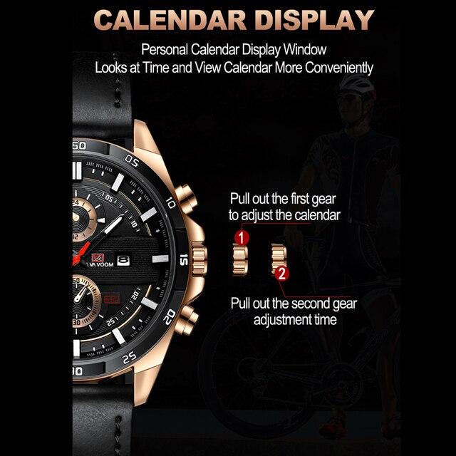 Фото 2020 новые мужские кварцевые часы деловые наручные для мужчин