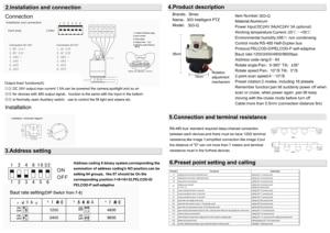 Image 5 - 24V Ac Outdoor Pan Tilt Motor Voor Cctv Camera 18Kg Pan Tilt Rotor Met Rs 485