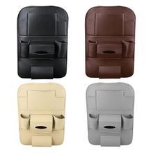 Автомобильная автоматическая спинка для сиденья сумка для хранения из искусственной кожи многочисленный карман органайзер держатель сумка против царапин и защиты окружающей среды