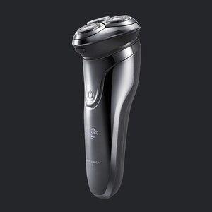 Image 4 - Xiaomi PINJING rasoir électrique sans fil 3D Smart rasoir rasoir USB charge IPX7 étanche 3 tête LED affichage pour hommes ES3