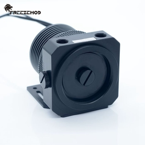 Image 3 - FREEZEMOD 국내 D5 pc 워터 쿨러 펌프 금속 갑옷 세트 마그네틱 서스펜션 PWM RGB AURA water cooling. PU GPD5