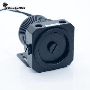 Image 3 - FREEZEMOD yerli D5 pc su soğutucu pompası metal zırh seti manyetik süspansiyon PWM RGB AURA su soğutma. PU GPD5