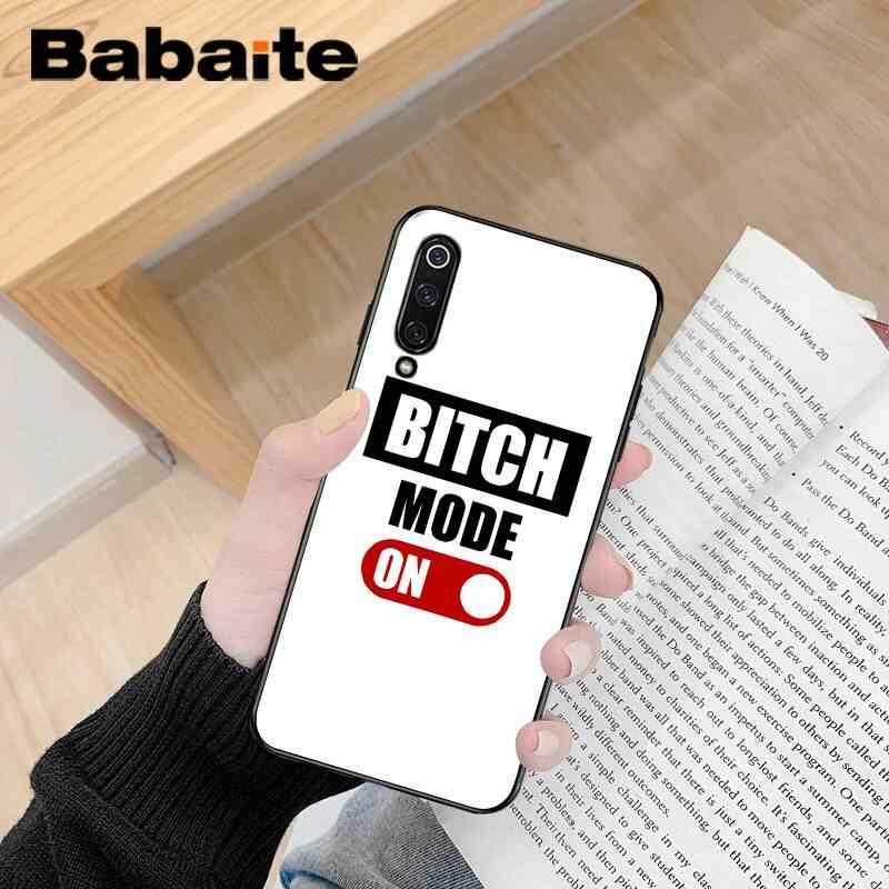 Babaite ฉันไม่ได้เสมอ BITCH Bonjour ลูกค้าโทรศัพท์คุณภาพสูงกรณีสำหรับ Xiaomi 6 MIX2 8SE K20 REDMI 5A NOTE4X 7 6A ฝาครอบ
