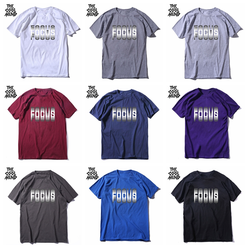 H68388e0bbc2b42c6aa06fef82f001d71M - COOLMIND 100% cotton summer loose focus print men T shirt casual loose o-neck men tshirt short sleeve t-shirt male tee shirts
