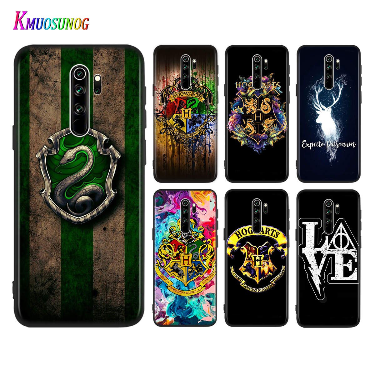 For Redmi 10X 5G S2 6A 6 5 Pro Plus Cover Cute Potter Love for Xiaomi Redmi 9 9A 9C 8 8A 7 7A K20 Pro Phone Case image