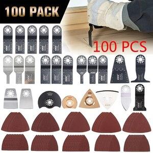 Image 1 - NEWONE многоосциллирующие лезвия пилы Combo HCS/Япония зуб/биметаллический Электрический Реноватор лезвия пилы аксессуары для деревообработки