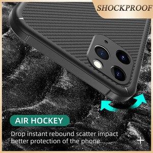Image 4 - Musubo Carbon Solderen Case Voor Iphone 11 Pro Max Zachte Schokbestendig Siliconen Bescherming Cover Case Luxe Funda I11 Pro coque