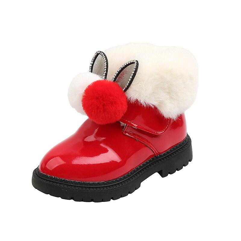 Baby Soft Plüsch Schuhe Winter Warm BootiesFlexibelfür Baby Boys Girls