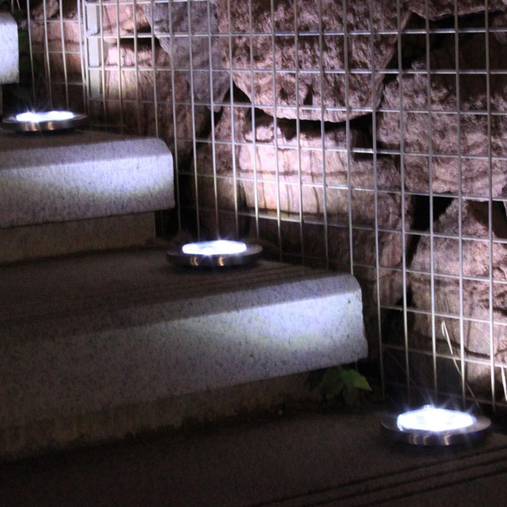 1pcs LED Solar Power Buried Light12 LED Lights Ground Lamp Outdoor Path Way Garden Decoration