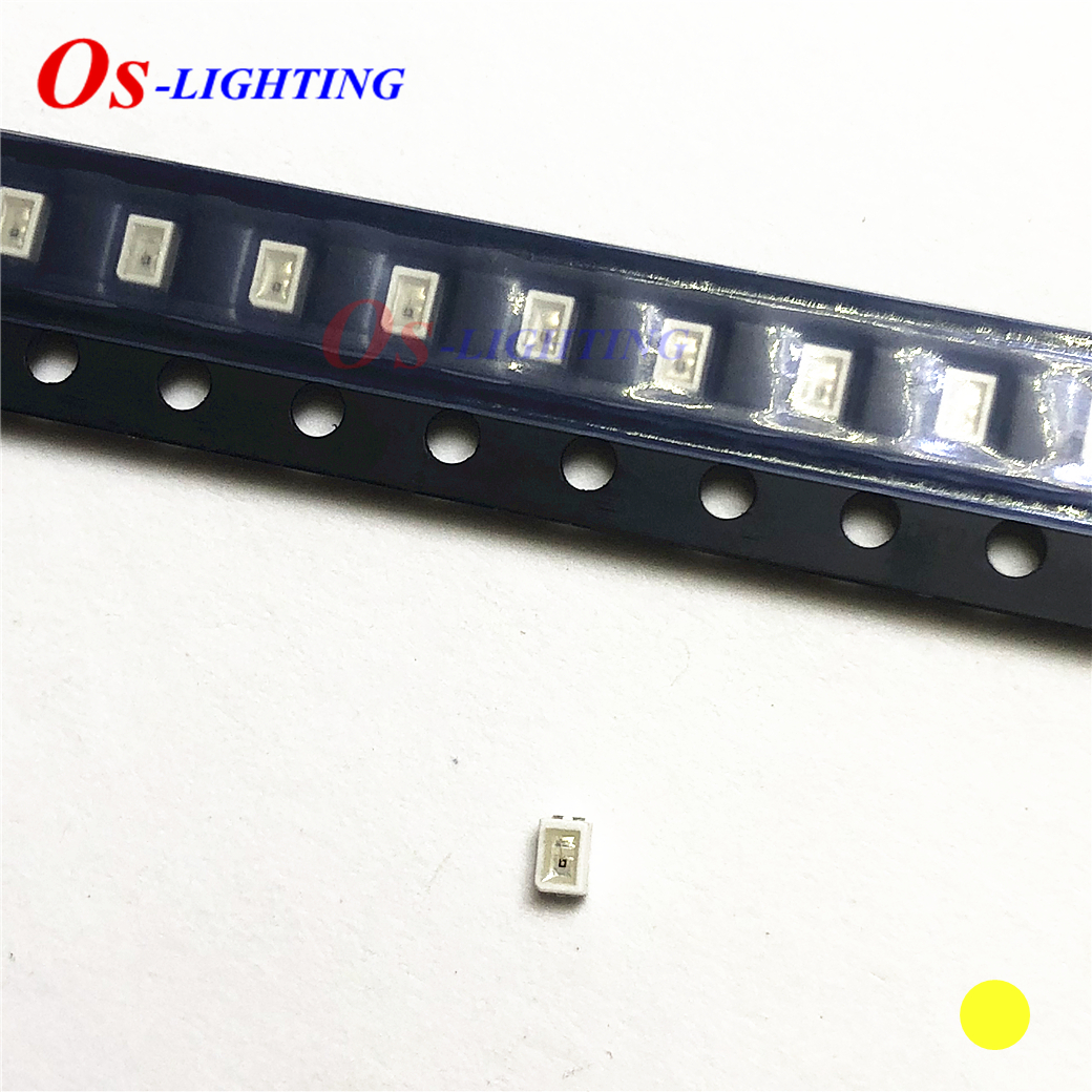 50pcs LY M67K LYM67K Mini 0805 YELLOW SMD LED 587NM - 591NM ( 2mA 1.8V 11.2MCD ) 2.0*1.4mm Light Beads ( LY M67K-J1L2-26-Z )