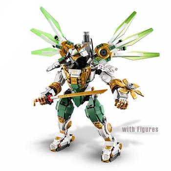 929 Uds Ninja Lloyd Titan bloques de construcción Mech con cifras Compatible...