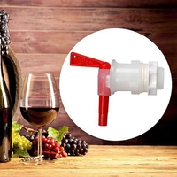 Beer Brew Bottling Bucket Plastic Spigot,Tap Replacement Spigot,Fermenter Beer Keg Spigot,Home DIY Wine Making Faucet, Bar Tools