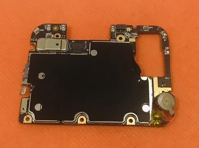 Usado original mainboard 4g ram + 64g rom placa mãe para umidigi one pro helio p23 octa core grátis envio do frete
