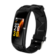 E58 Smart Watch Men Women Heart Rate Monitor Blood Pressure Fitness Tracker Smartwatch Sport Watch For Ios,Android Black(China)