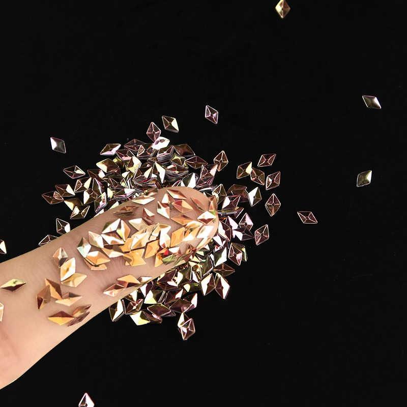 1pcs Pretty 3D เล็บ Rhinestone Ultrathin Sequins Glitter CRAFT DIY เล็บ Art Decor Sparkly DIY ตกแต่งเล็บ