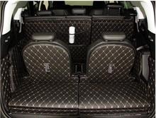Высокое качество! Специальные коврики для багажника Peugeot 5008, водонепроницаемые коврики для багажника, подкладка для груза для Peugeot 5008, беспл...