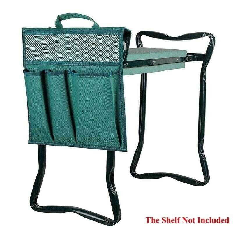 Foldable Garden Kneeler Tool Bag Outdoor Seat Tool Bag Work Portable Storage Bag Stool Pouch for Knee Stool Gardening Tools kit Tool Parts    - AliExpress