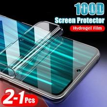 100D 2PCS Soft Hydrogel Film For Xiaomi Redmi Note 8T 8Pro 8A Screen Protector xiomi Redmi note8 8 pro t note8t 8pro Not Glass