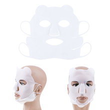 Reusable Moisturizing Silicone Face Mask Cover Ear-Hook Prevent Evaporation Face Slim Mask Cover Beauty Skin Tool