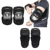 Cotovelo adulto e joelheiras-segurança guardas de pulso engrenagem de proteção para patins/skate/scooter/bmx mtb bicicleta equitação
