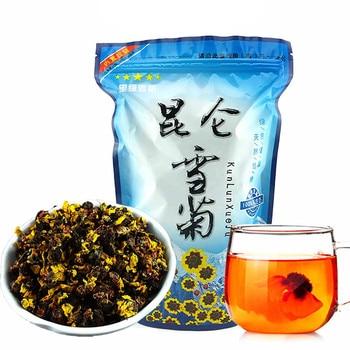 2020 цветочный чай, китайский кунлунь, снежные хризантемы, травяной чай с маргаритками, высушенный цветочный Цветущий чай для красоты, здоровая пища, 100 г., алиэкспресс на русском языке каталог