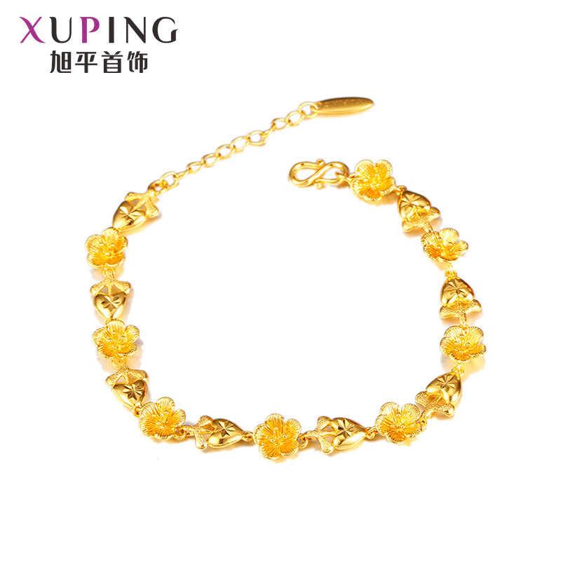 مجوهرات XUPING أساور زهرة الاكسسوارات اليابانية الكورية سوار الموضة بيع المصنع مباشرة الجملة التجزئة