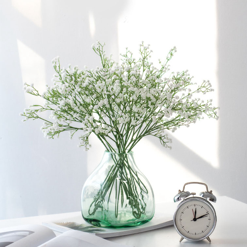 90Heads 52cm Babies Breath Artificial Flowers Plastic Gypsophila DIY Floral Bouquets Arrangement for Wedding Home Decoration|Artificial & Dried Flowers| - AliExpress
