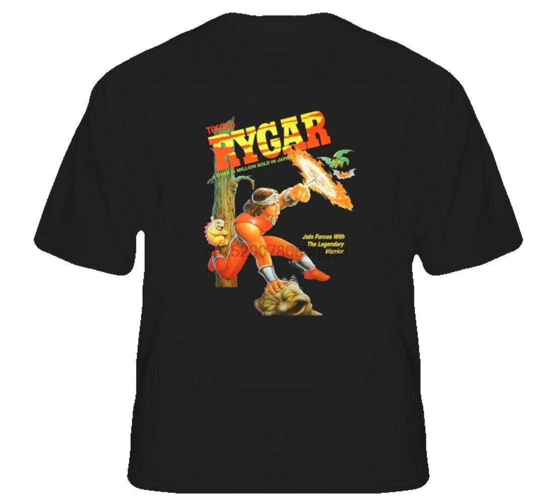 Rygar NES Retro Box Video Game T ShirtCartoon t shirt men Unisex New Fashion tshirt free shipping funny tops