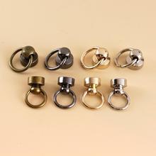 10 шт. металлический шаровой столб с уплотнительным кольцом, штифты, заклепки для ногтей, отвертка с круглой головкой, шипы, кожа, ремесло, чех...
