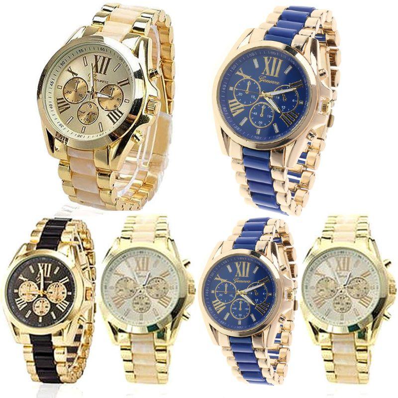 relogio masculino Top Luxury Brand Men Quartz Wristwatch Men's Wristwatches Business Gold Stainless Steel Watch