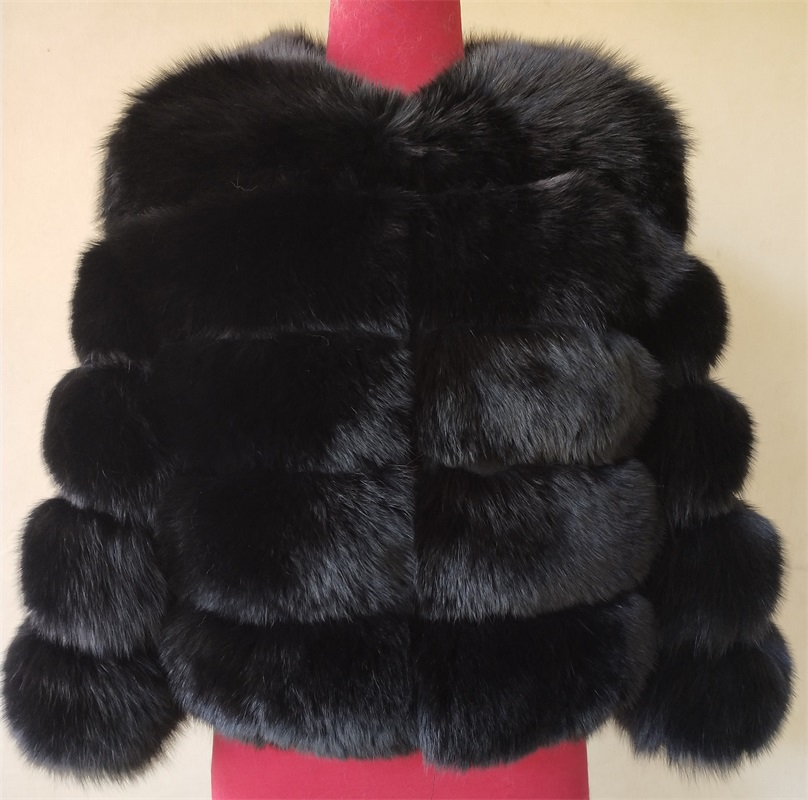 BEIZIRU Real Fur Coat  Natural Fox Fur Jacket Winter Warm Fashion Leather Coat Natural Fur Genuine Leather Coats New Style