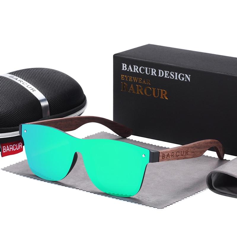 unisex polarized sunglasses green